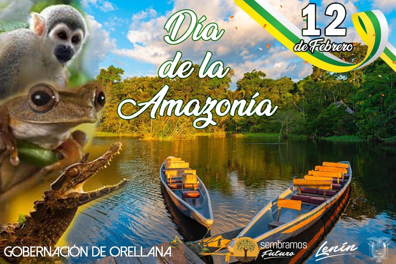 La Gobernación de Orellana Rinde Homenaje a La Amazonía Ecuatoriana