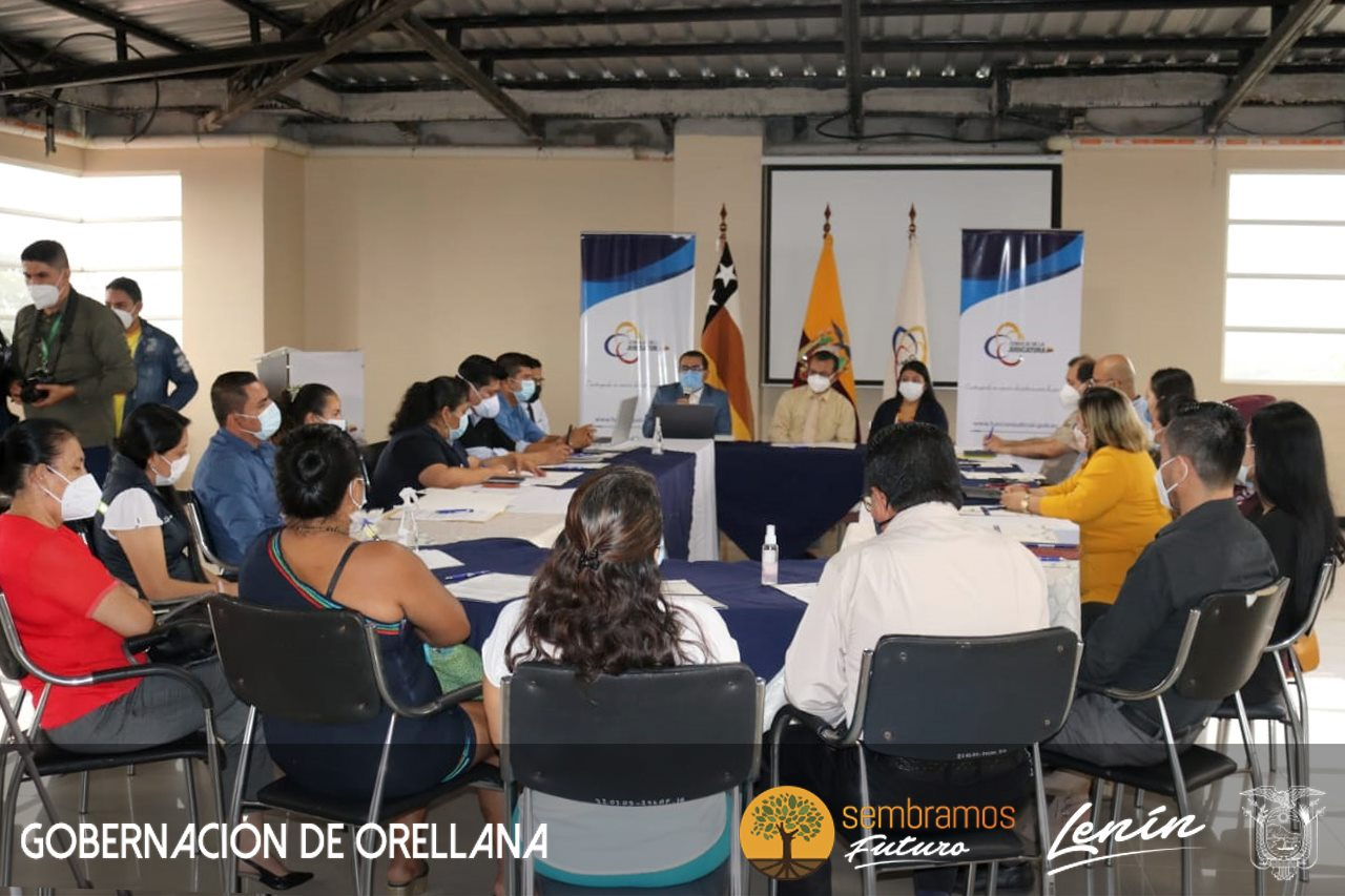 Se activó la Mesa de Seguridad y Género en Orellana