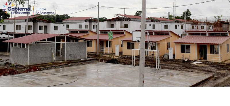 Proyecto 150 Soluciones Habitacionales en Orellana #MIDUVI